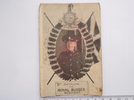2nd batt R.Sussex Regt Private in Egypt