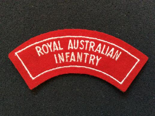Royal Australian Infantry Shoulder Title 1948-60