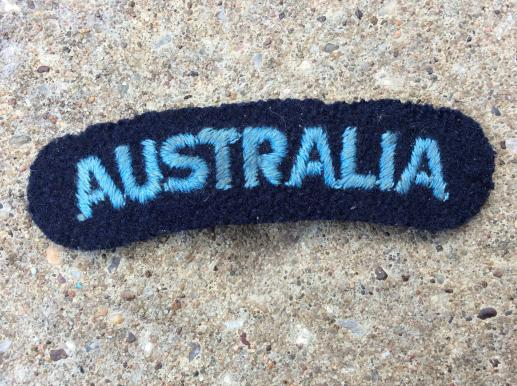 WW2 RAAF AUSTRALIA nationality title
