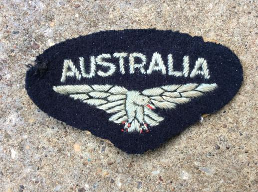 WW2 RAAF AUSTRALIA and bird nationality title