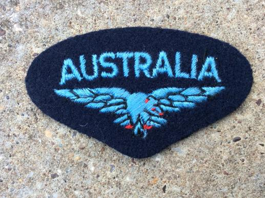 WW2 RAAF AUSTRALIA Shoulder Title