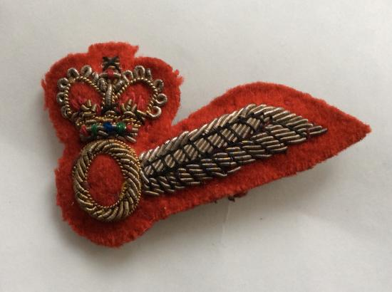 British Army Air Corps Bullion Observer wing